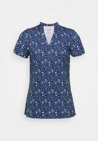 Puma Golf - MATTR DISPERSION - Print T-shirt - navy blazer/mazarine blue - 4