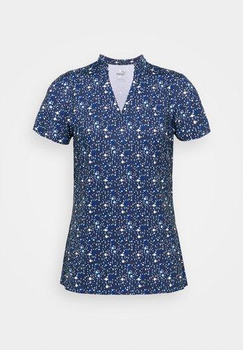 MATTR DISPERSION - Print T-shirt - navy blazer/mazarine blue