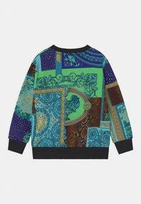 Versace - PRINT PATCHWORK HERITAGE ANIMALIER - Sweatshirt - light blue/blue/multicolor - 1