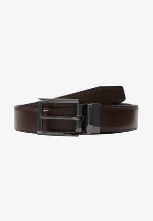 NANAO - Cintura - dark brown/black/gunmetal