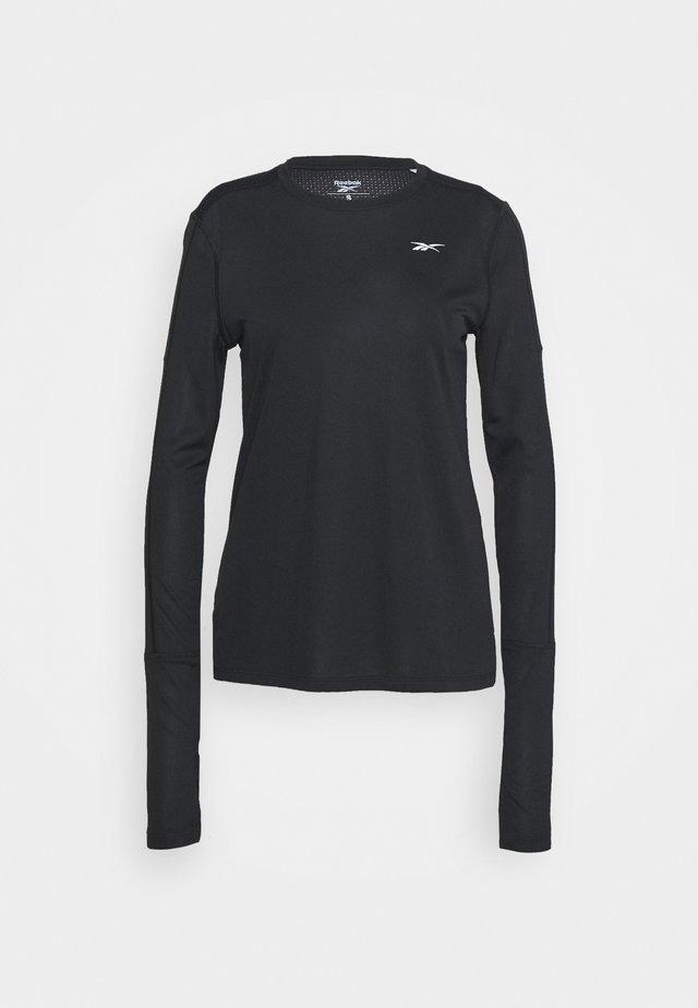 TEE - T-shirt sportiva - black