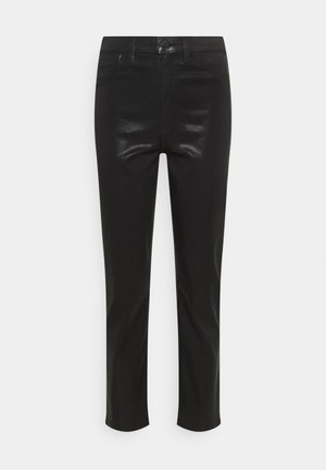 ALMA HIGH RISE - Trousers - stellar black