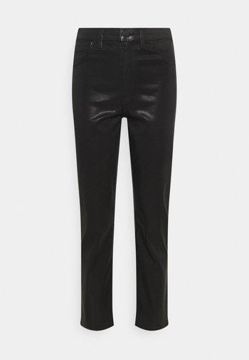 ALMA HIGH RISE - Trousers - stellar black
