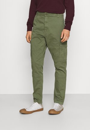 ANDERS - Cargo trousers - dusty olive