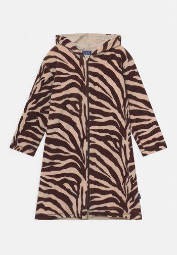 BATHROBE UNISEX - Dressing gown - brown