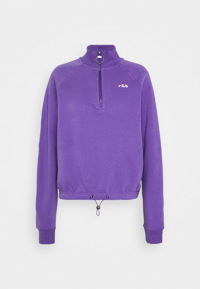 MARCY HALF ZIP - Sweater - ultra violet