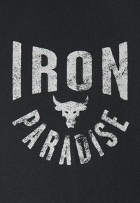 Under Armour - ROCK IRON PARADISE - Sports shirt - black