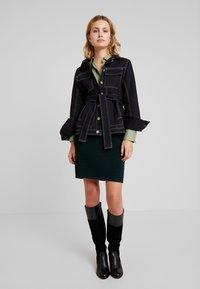 Anna Field - Pouzdrová sukně - dark green - 1