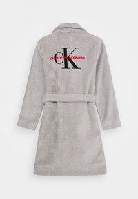 Calvin Klein Underwear - ROBE UNISEX - Župan - grey - 1