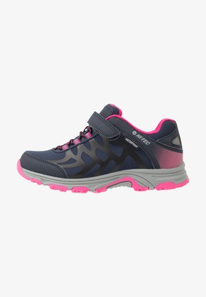 YOMP WP  - Hiking shoes - navy/desert flower