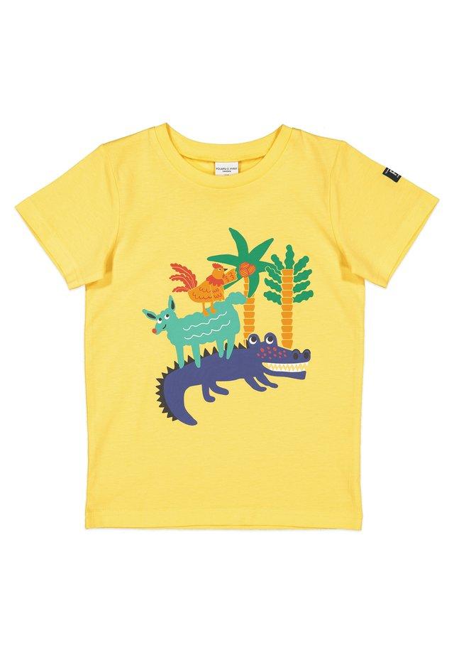 SAFARI  - Print T-shirt - lemon drop