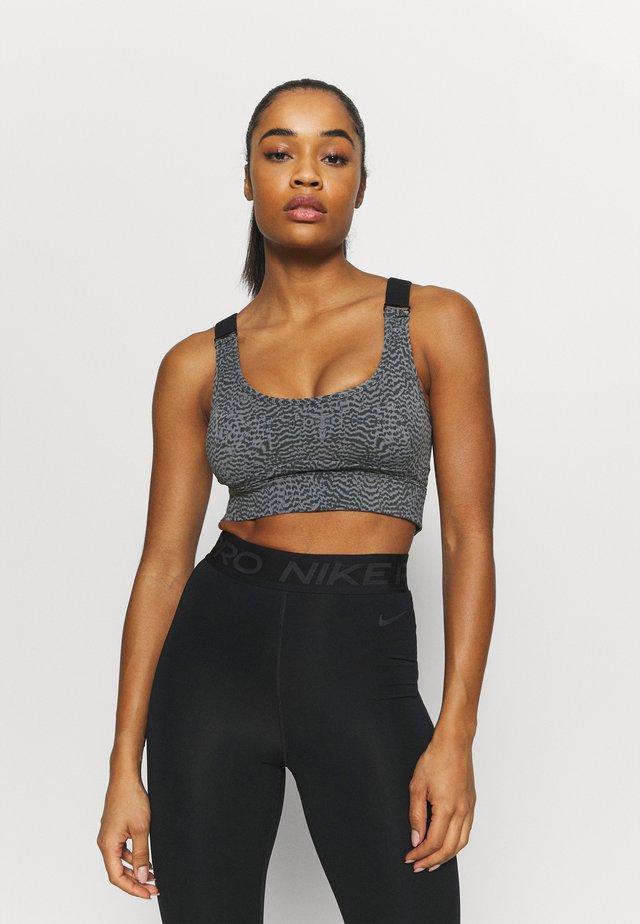 EDRIS BRA - Medium support sports bra - black