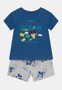 OVS - SET - Print T-shirt - victoria blue - 0