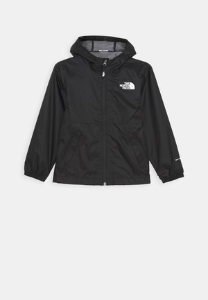 ZIPLINE RAIN JACKET - Chaqueta Hard shell - black