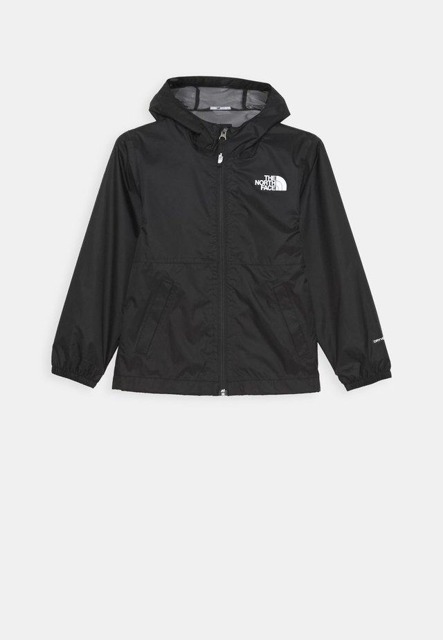 ZIPLINE RAIN JACKET - Giacca hard shell - black