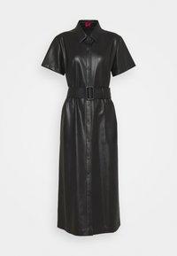 HUGO - KELENI - Shirt dress - black - 4