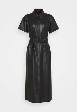 KELENI - Shirt dress - black