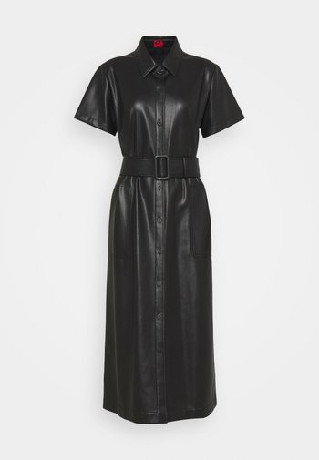 KELENI - Košilové šaty - black