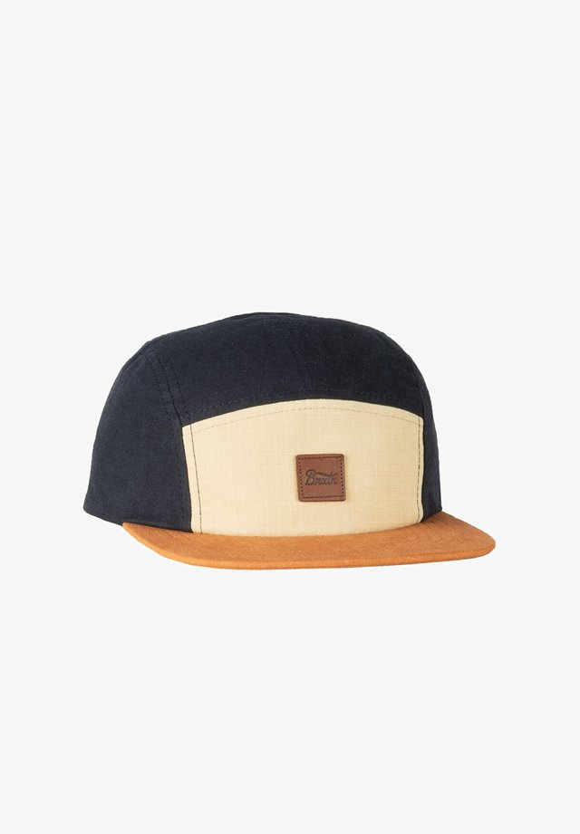 STITH LP CAMPER - Cappellino - gravel/amber/washed navy
