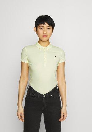 SHORT SLEEVE SLIM - Polo shirt - yellow