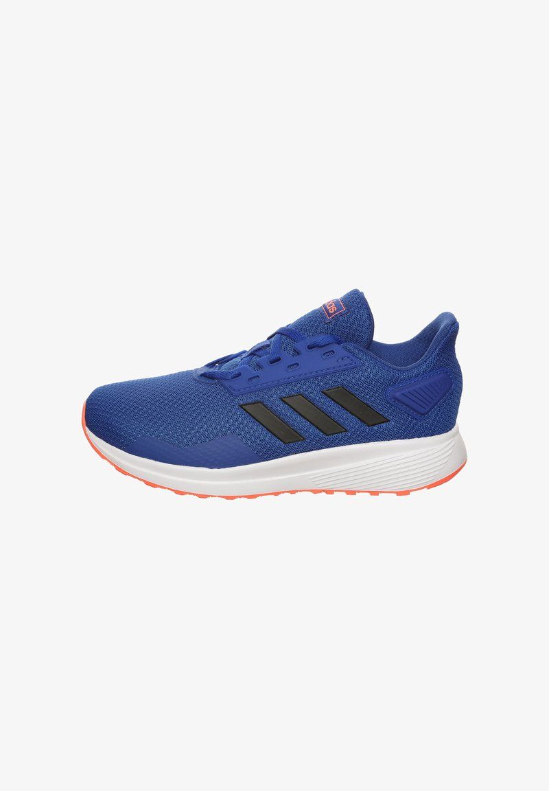 adidas Performance - DURAMO 9  - Neutral running shoes - royal blue/core black/signal coral