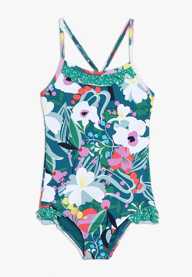 TROPICAL BRANCHES SWIMSUIT - Swimsuit - multi