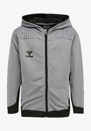 LEAD  - Zip-up sweatshirt - grey melange