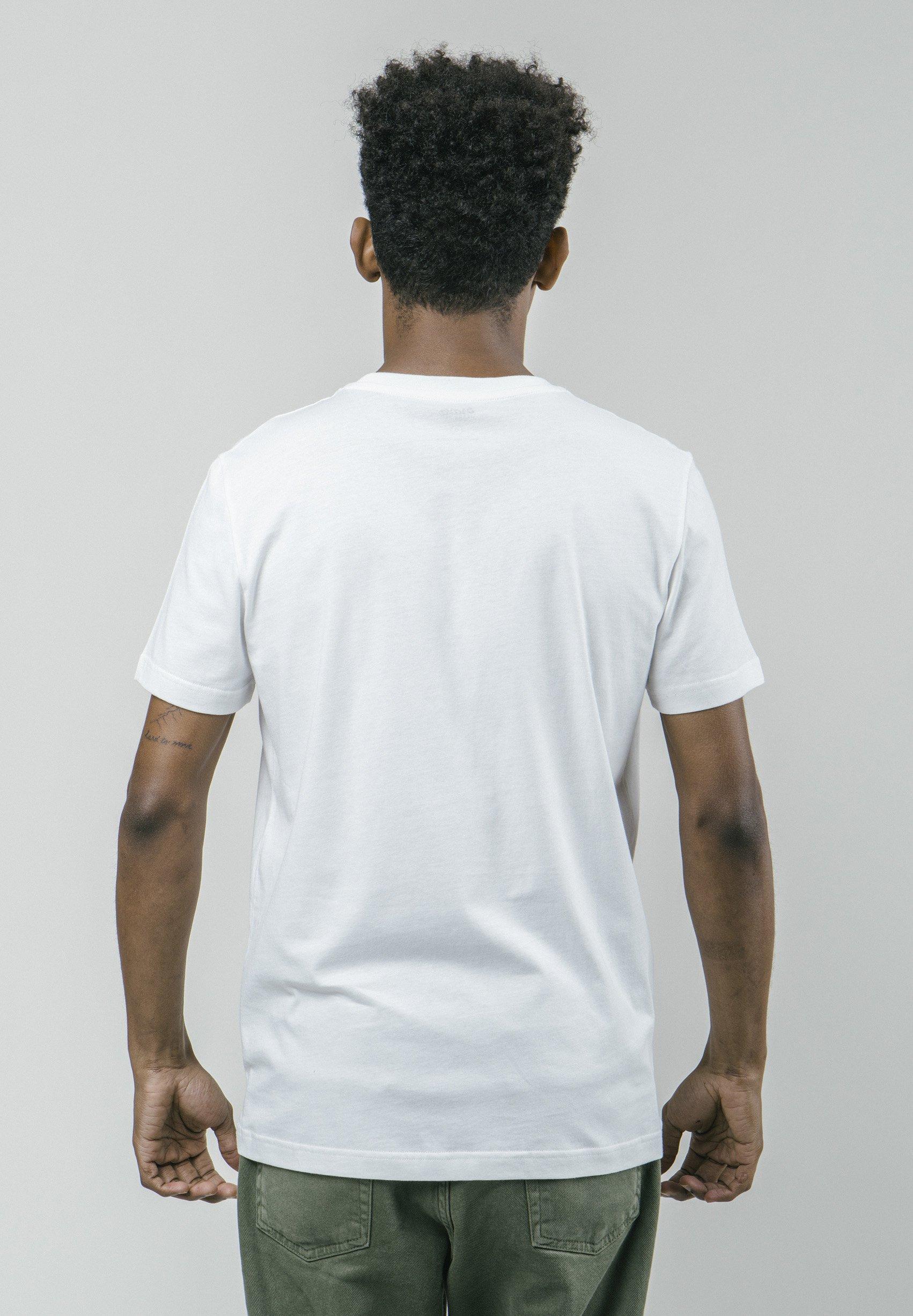 Ogromny zakres Gorąca wyprzedaż Brava Fabrics T-shirt z nadrukiem - white | Odzież męska 2020 zS2p3