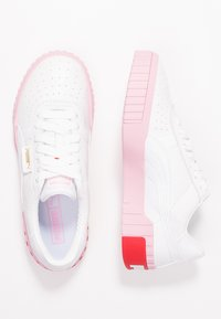 Puma - CALI - Baskets basses - white/pale pink - 3