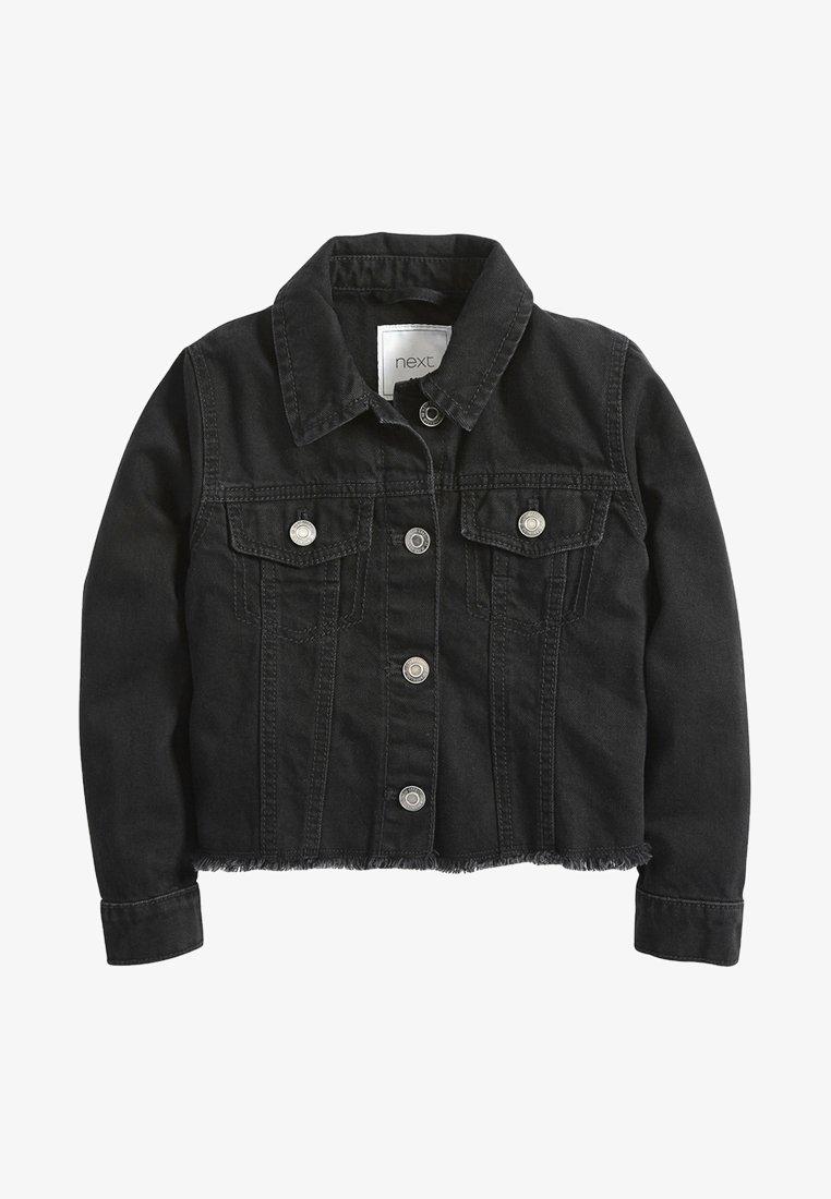 Next - Denim jacket - black