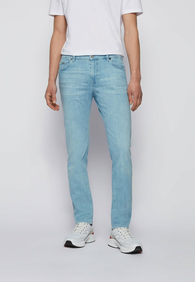 BOSS - Slim fit jeans - light blue