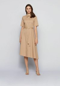 BOSS - DARANDA - Shirt dress - beige - 1