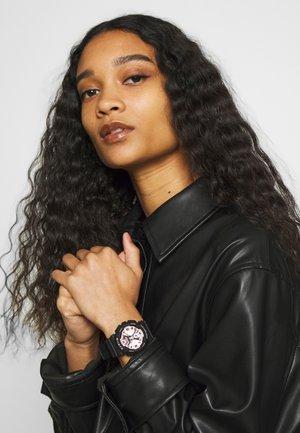 Chronograph watch - schwarz/rosa