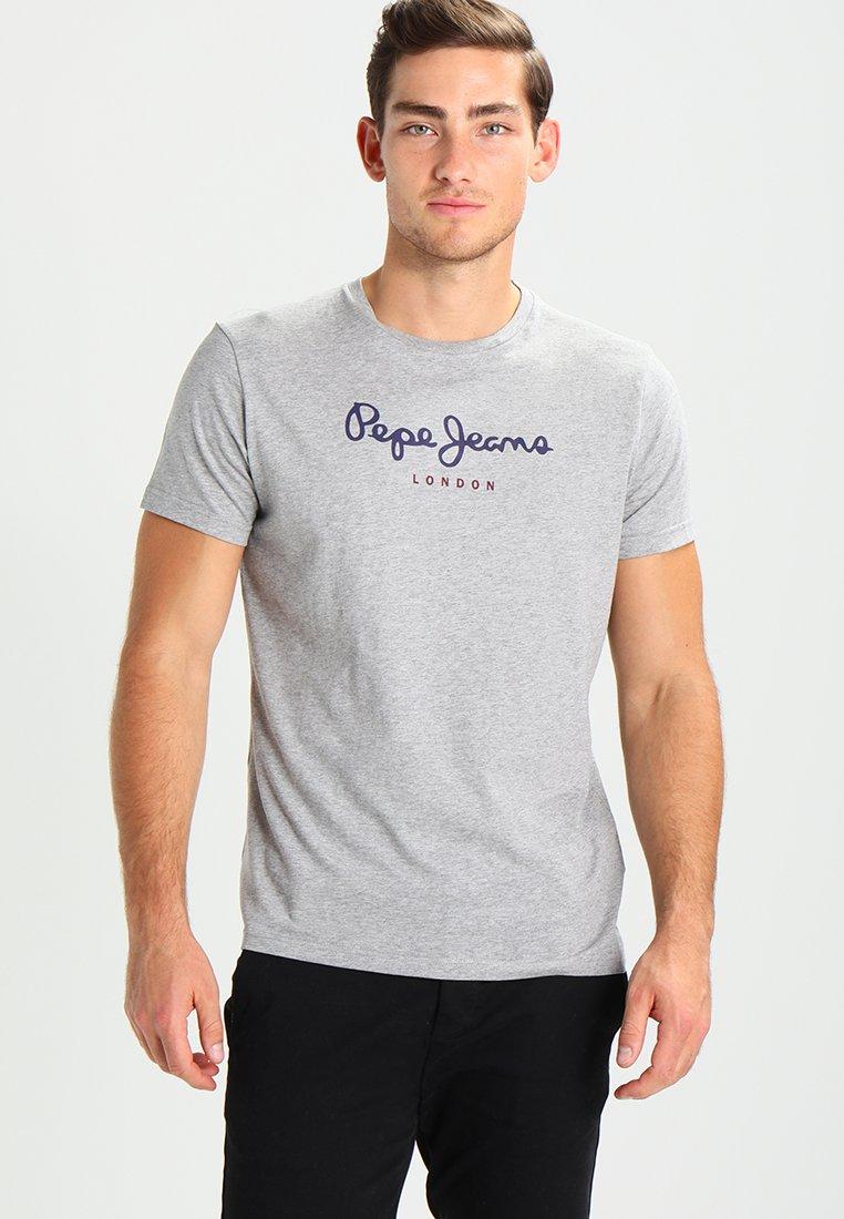 Pepe Jeans - EGGO - Camiseta estampada - grey marlange