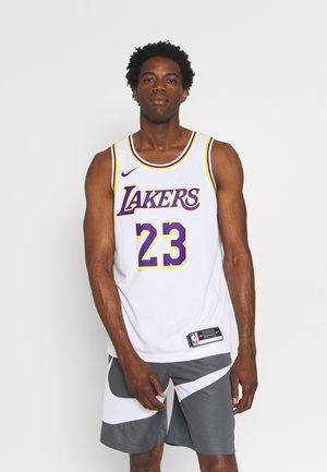 NBA LA LAKERS LEBRON JAMES SWINGMAN - Club wear - white