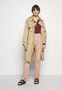 Sisley - Long sleeved top - bordeaux - 1