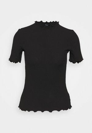 ONLEMMA HIGHNECK TOP  - Print T-shirt - black