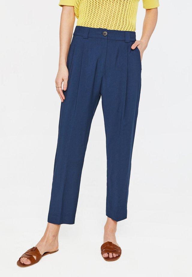 TOMA - Spodnie materiałowe - dark blue