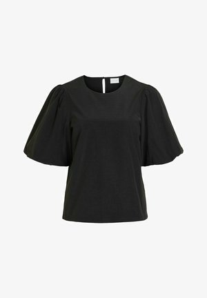 VIMEDUSA - Print T-shirt - black