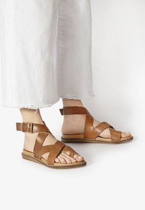 T-bar sandals - cococnut ccn