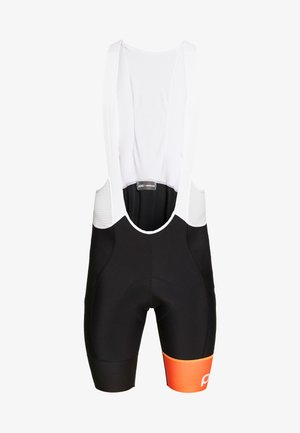 ESSENTIAL ROAD BIB SHORTS - Punčochy - uranium black/hydrogen white