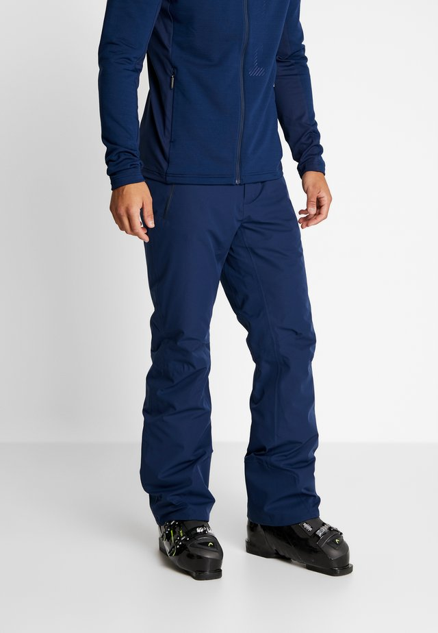 SUMMIT PANTS - Talvihousut - dark blue