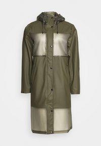 Ilse Jacobsen - TRUE RAINCOAT - Waterproof jacket - army - 0