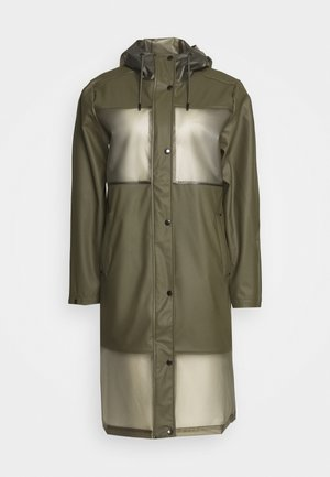 TRUE RAINCOAT - Waterproof jacket - army