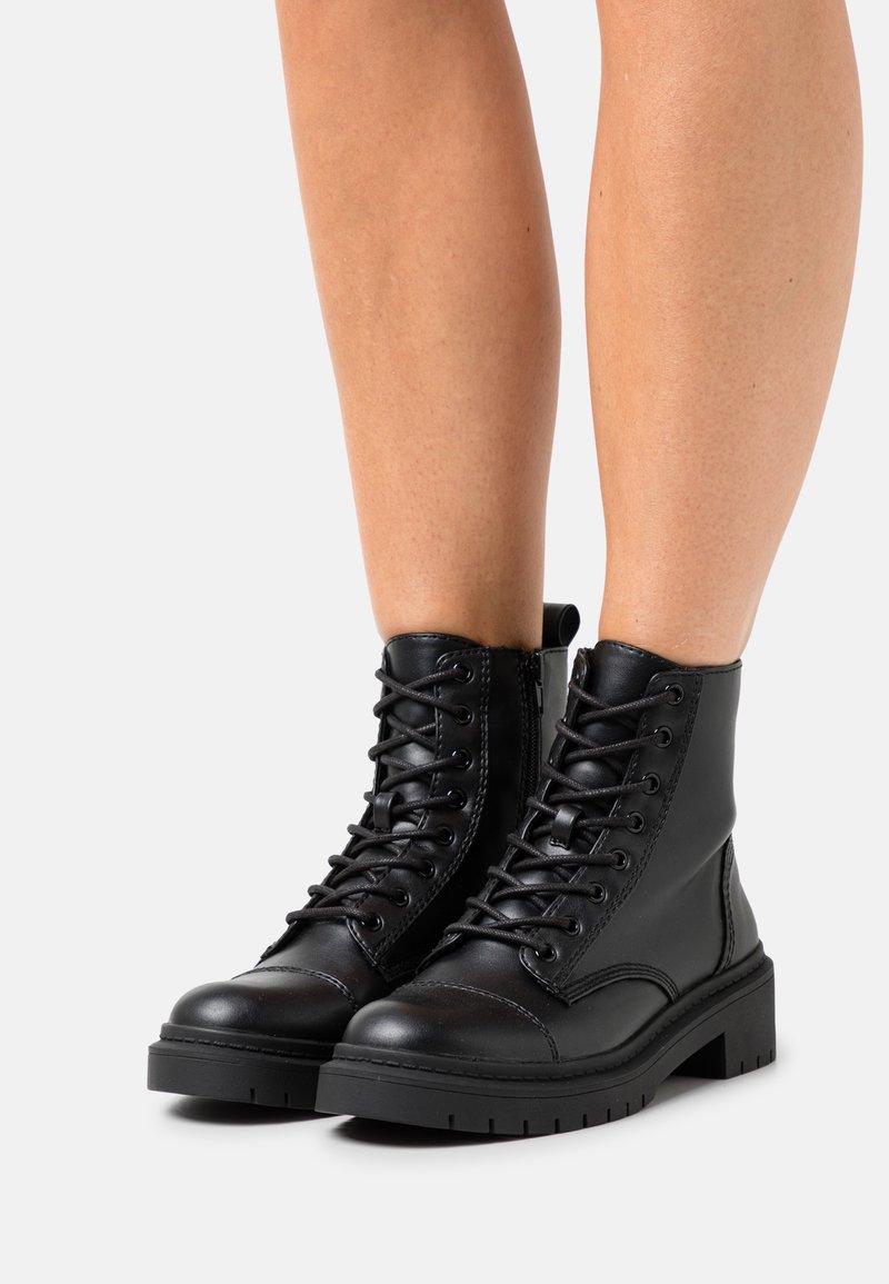 ALDO - GOER - Bottines à lacets - other black
