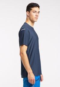 Haglöfs - Print T-shirt - tarn blue - 2