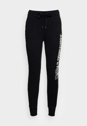 LOGO JOGGERS - Pantaloni sportivi - black