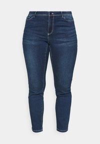 Vero Moda Curve - VMMANYA  - Jeans Skinny Fit - dark blue denim - 3