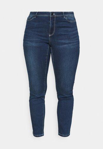 VMMANYA  - Jeans Skinny Fit - dark blue denim