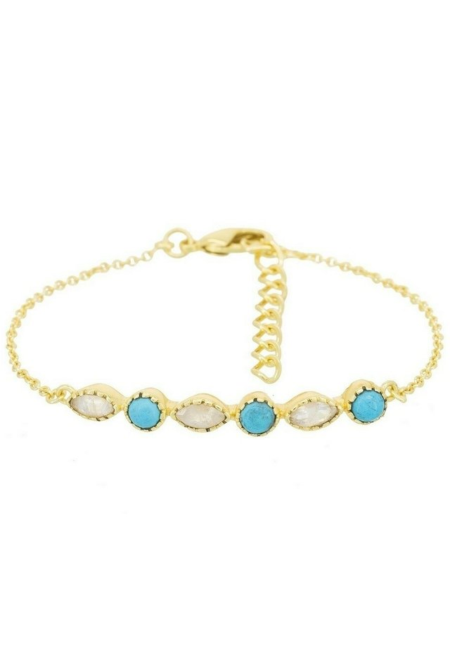 FANTAISIE - Bracelet - gold / blue